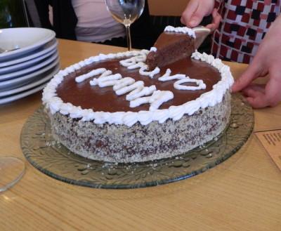 čoko-orašasta torta