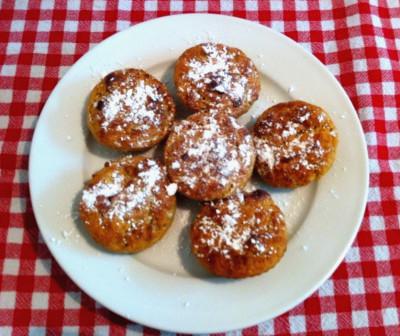 muffini s ostatkom voća