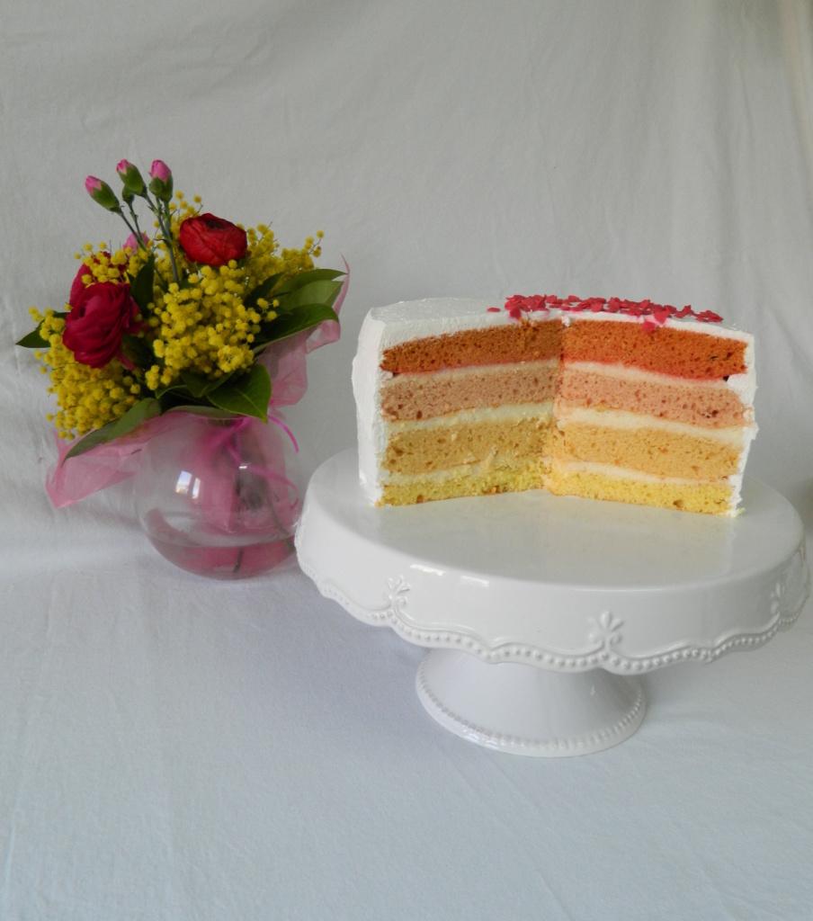 Šarena torta - razrezana
