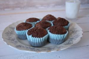 Muffini s bananom i čokoladom