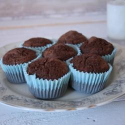 muffini s čokoladom i bananom